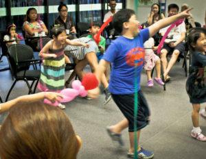Kids birthday party games hosting