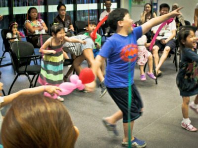 Kids birthday party games hosting