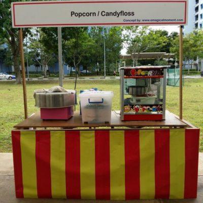 Popcorn Candy Floss Rental