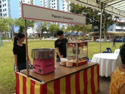 Popcorn & Candy Floss Event