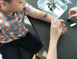 Kids Party Glitter Tattoo
