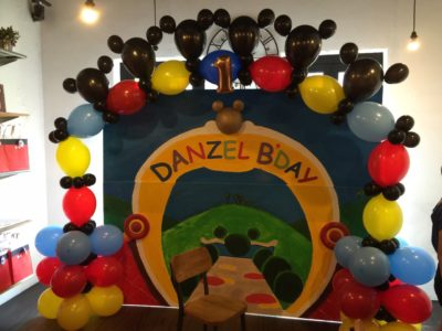 Helium Balloon arch decoration