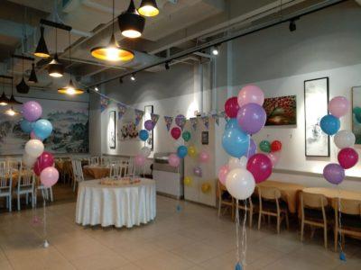helium balloon decoration