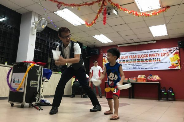 magic show singapore